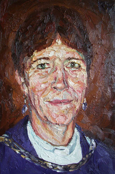 Portrait of Anne Pilkington (Head) - pnt030
