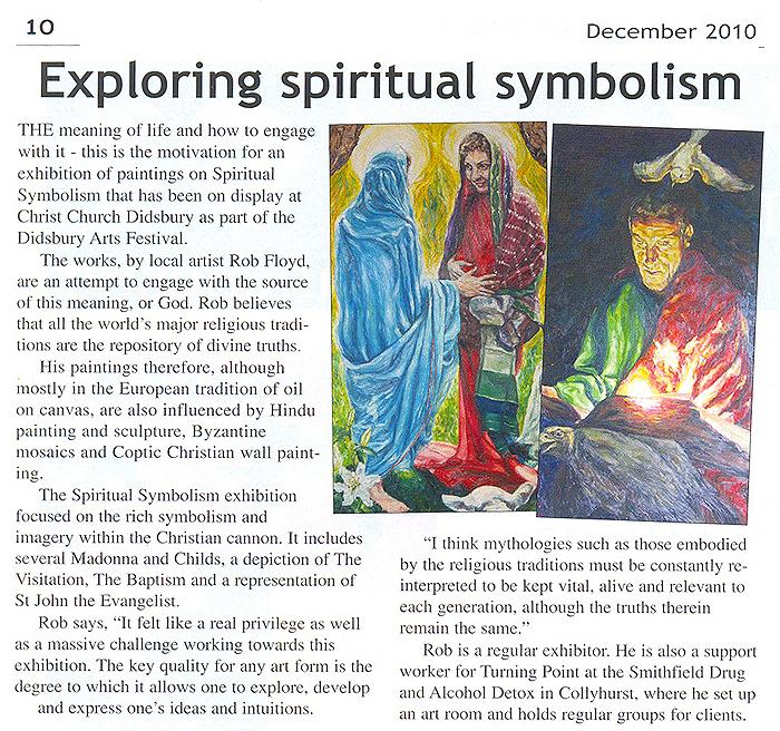 Article in Crux Magazine.